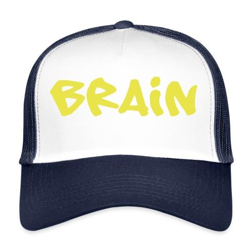 brain schriftzug - Trucker Cap