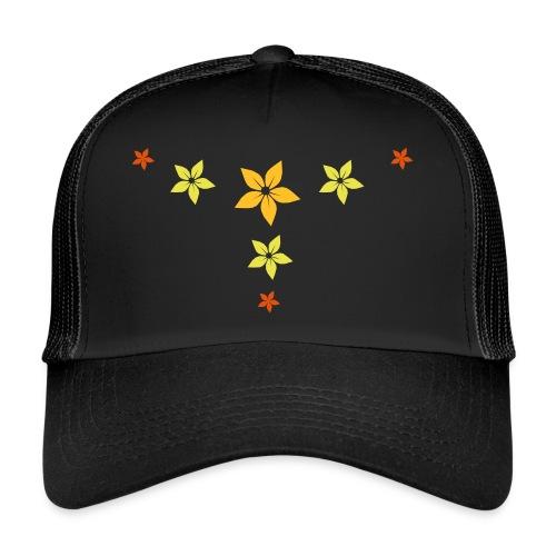 flower, star - Trucker Cap