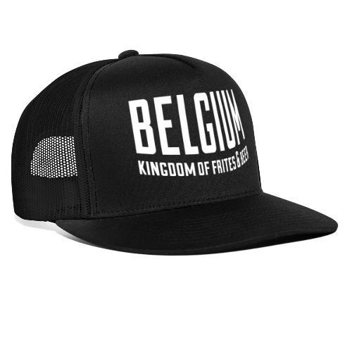 Belgium kingdom of frites & beer - Trucker Cap