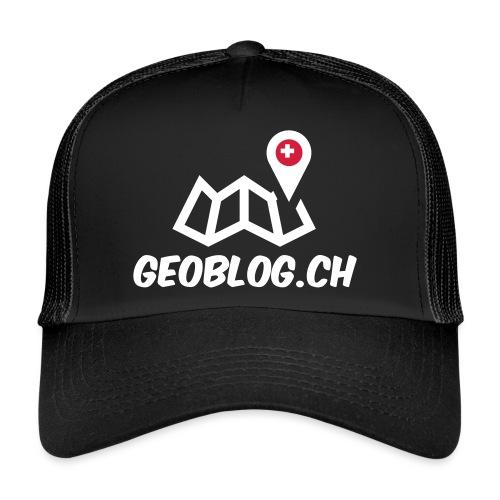 Logo+Schriftzug-hoch - Trucker Cap