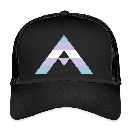 shirt_ally_trans - Trucker Cap