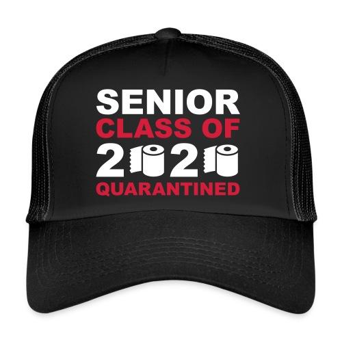 2020 senior quarantined 3c - Trucker Cap