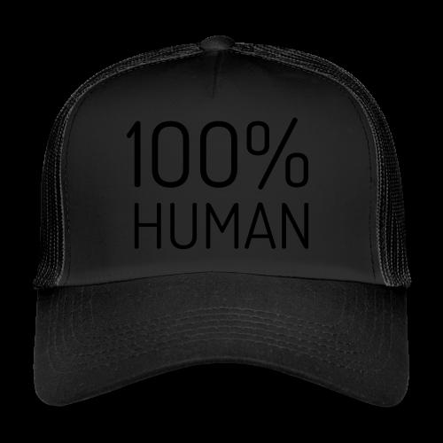 100% Human - Trucker Cap