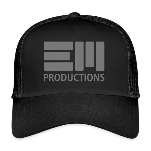 EM Productions Logo 2016 - Trucker Cap