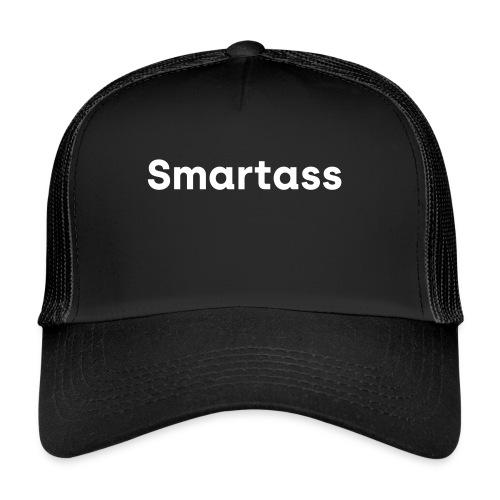 Smartass white Cap - Trucker Cap