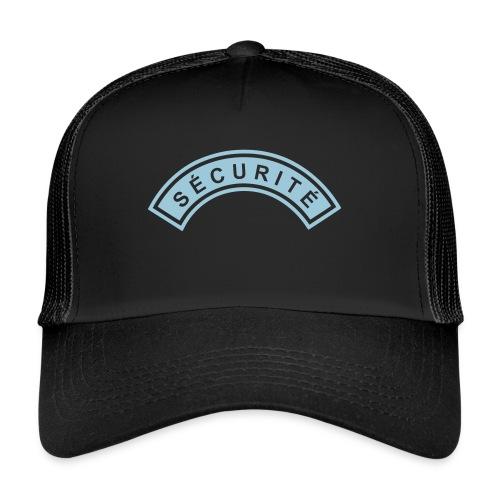 Ecusson Sécurité demilune - Trucker Cap