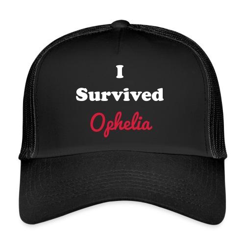 IsurvivedOpheliaWhitered - Trucker Cap