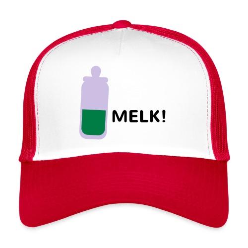 Grappige Rompertjes: Melk - Trucker Cap