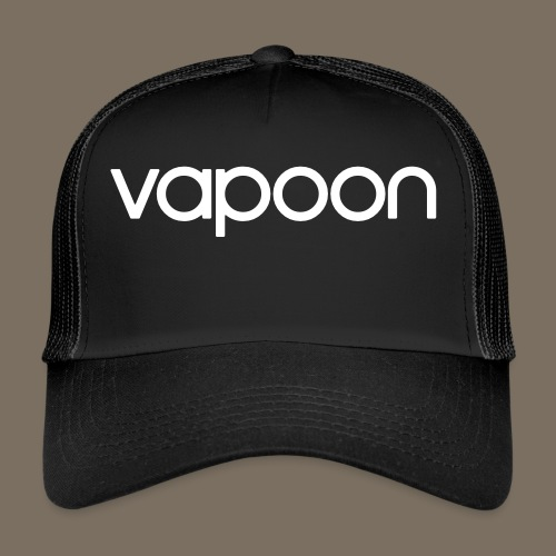 Vapoon Logo simpel 01 - Trucker Cap