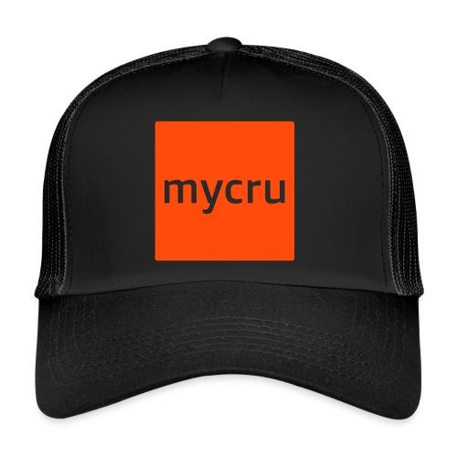 mycru logo - Trucker Cap
