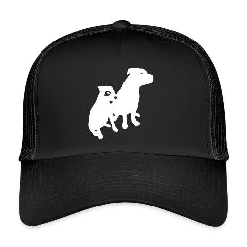 Doggy / zwei brave Hunde zum verschenken - Trucker Cap