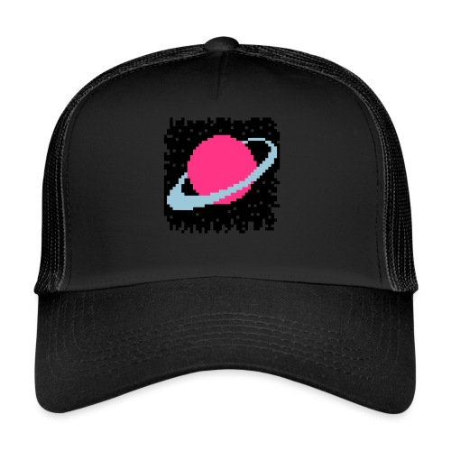 PixelArt Saturn - Trucker Cap