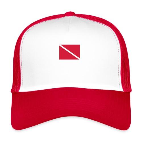 Diver Flag - Trucker Cap