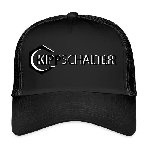 kippschalter logoweiss - Trucker Cap