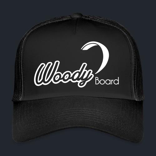 Logo Woodyboard Blanc - Trucker Cap