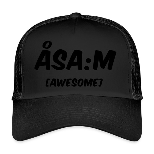 Åsa:m [awesome] - Trucker Cap