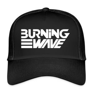 Burning Wave Block - Trucker Cap