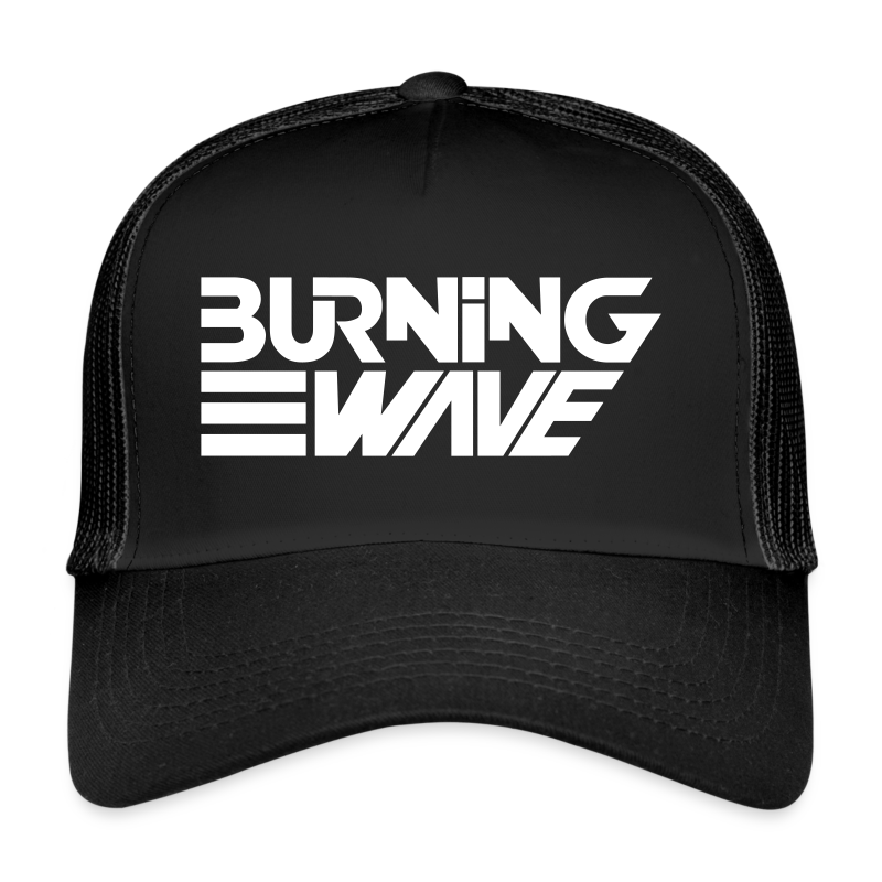 Burning Wave Block - Trucker Cap