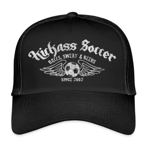 Kickass_balls_front - Trucker Cap