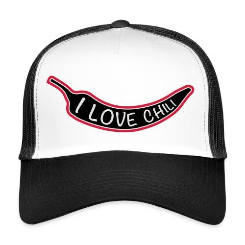 I love chili - Trucker Cap