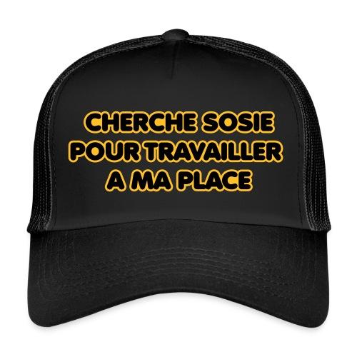 cherche_sosie2 - Trucker Cap