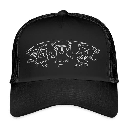 See no evil, Hear no evil, Speak no evil - Trucker Cap