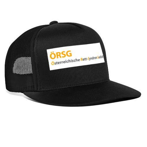 Text-Logo der ÖRSG - Rett Syndrom Österreich - Trucker Cap