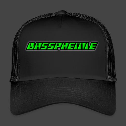 Bassphemie - Neongrün - Trucker Cap
