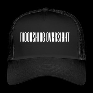 moonshine oversight blanc - Trucker Cap