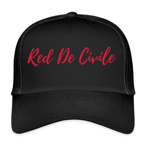 RED DE CIVILE red - Trucker Cap