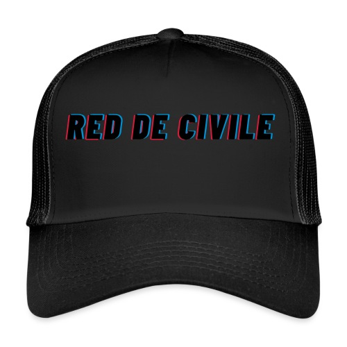 RED DE CIVILE main logo - Trucker Cap