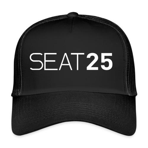 Seat25 Logo Light - Trucker Cap