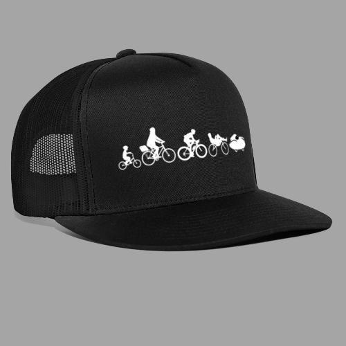 Bicycle evolution white Quattrovelo - Trucker Cap