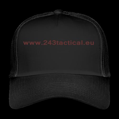 .243 Tactical Website - Trucker Cap