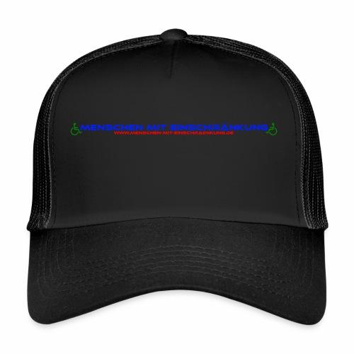 Menschen mit Einschraenkung - Trucker Cap