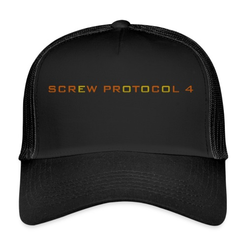 ScrewP4 Final - Trucker Cap