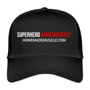 SUPERHERO HOMEWORKOUT - Premium t-shirt for Men - Trucker Cap