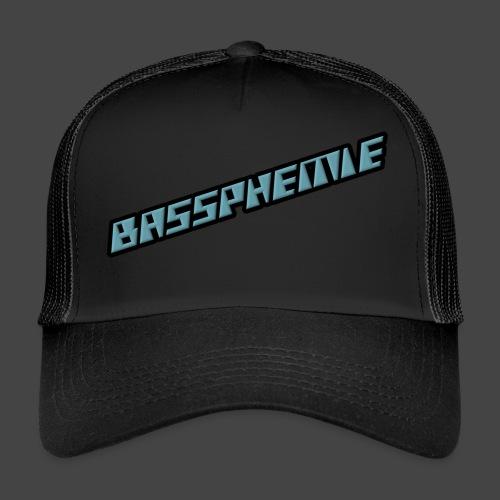 Bassphemie - Blau (Original Design) - Trucker Cap