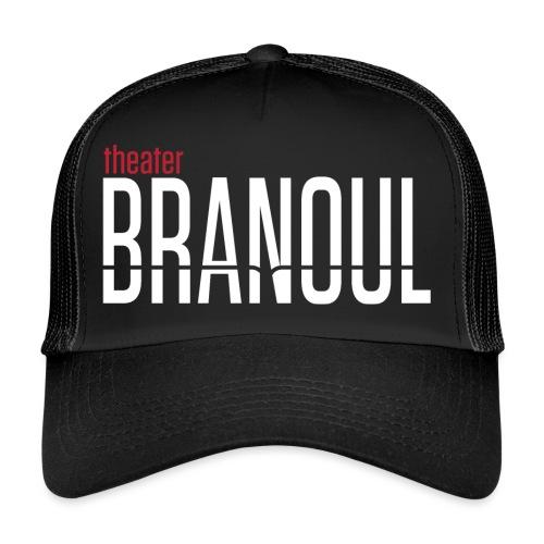 Branoul Logo rood wit - Trucker Cap