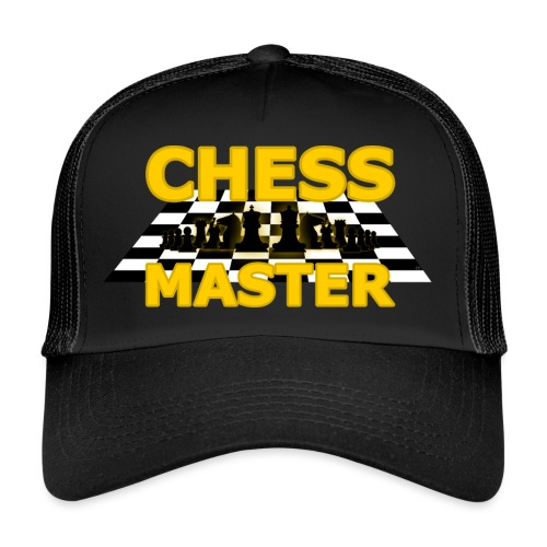 Chess Master - Black Version - By SBDesigns - Trucker Cap