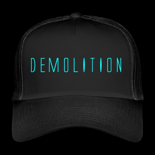 Demolition News Logo (lrg) - Trucker Cap
