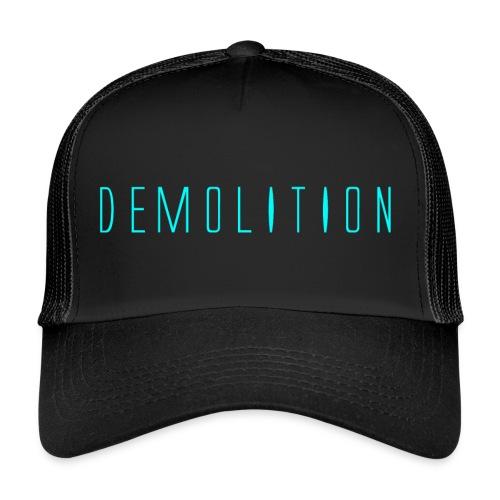 Demolition News Logo (lrg) - Trucker Cap