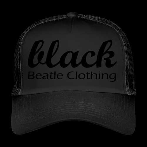 BBC black - Trucker Cap