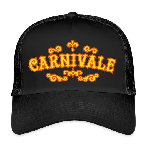 logo_carnivale_outline - Trucker Cap