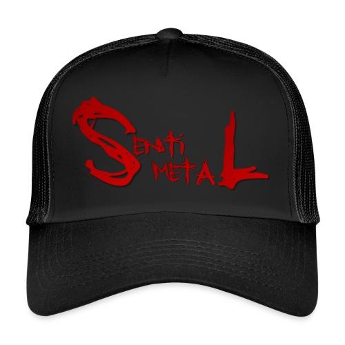 Snapbag Schriftzug Rot - Trucker Cap