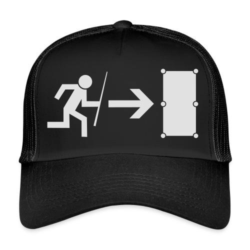 Emergency Exit Billard - Trucker Cap