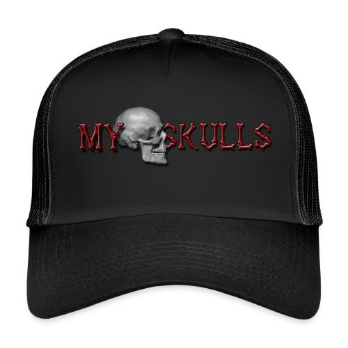 myskulls vorlage gross - Trucker Cap