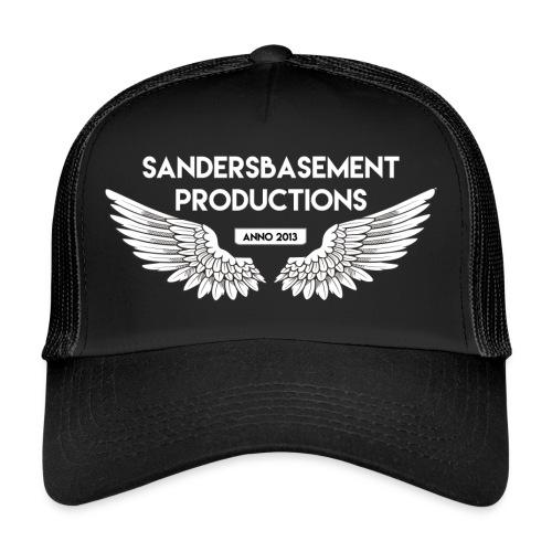 T SHIRT logo wit png png - Trucker Cap