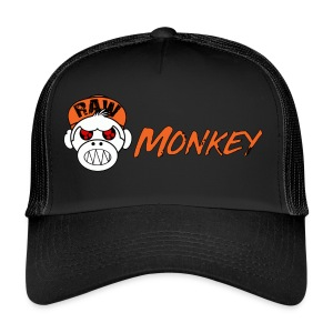 Raw Monkey Logo - Trucker Cap