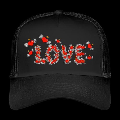 Flying Hearts LOVE - Trucker Cap